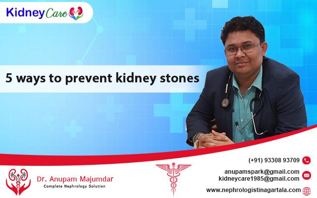 5 ways to prevent kidney stones